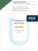 GuiaActividadesTrabajo FinalCurso 2014-2 SistTradicional