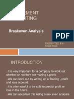 Break Even Analysis-sumanjit