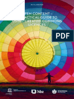 Open Content-a Practical Guide to Using Creative Commons Licences