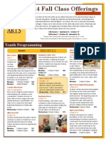 fall 2014 program