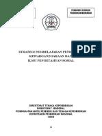 [Panduan] Strategi Pembelajaran Pendidikan Kewraganegaraan Dan Ips