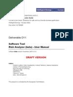 analizador de riesgo