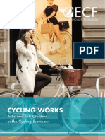 CYCLING WORKS. Jobs and Job Creation in the Cycling Economy (EFC, 2014)