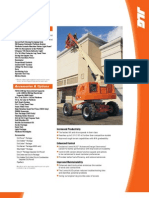JLG 400 Series TELESCOPIC BOOM LIFTS