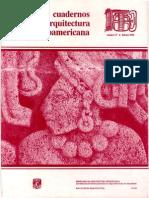 Cuaderno de Arquitectura Mesoamericana Numero 17 1992