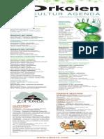Gabonetako kultura agenda 2014