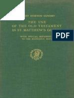 Robert H. Gundry (1967). the Use of the Old Testament in Matthew (NovTSup 18) Leiden, Brill.