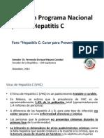 Senador Fernando Mayans Programa Nacional HepatitisC