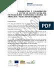 Plan de Trabajo en Materia de Comunicacion y Colaboracion