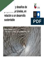 5.Tendencias y Desafíos de Proyectos de Túneles, En Relación a Un Desarrollo Sustentable.