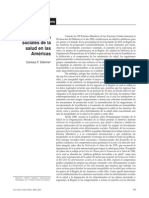 Determinantes Sociales Salud Américas
