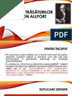 Teorii ale trăsăturilor Gordon Allport