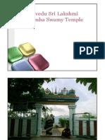 Padavedu Sri Lakshmi Narasimha Swamy Temple
