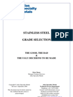 Stainless Steel Grade Selection Rev Sep 2008