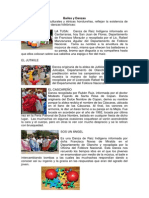 Bailes y Danzas de Honduras