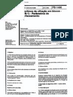 NBR 11420 PB 1496 - Algoritmos de Cifracao Em Blocos - (ACB-1) - Parametros de Interfaceamento