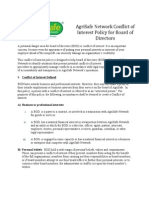 ASN BoD Conflict of Interest Policy