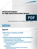 LeCroy Advanced Analysis for High Speed Data Stream