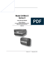 Model 24/Mini-X Series II Product Manual
