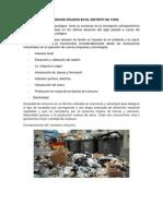 Gestión de Los Residuos Sólidos en El Distrito de Yura