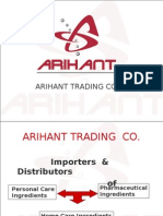 Arihant Presentation