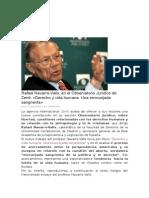 Derecho a La Vida Navarro Valls