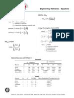 Formulas variadas