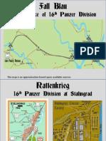 Stalingrad 16th Panzer Maps
