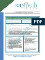 Business Analyst Competency Dev Proram Zarantech4