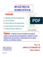 1.1 Campoelectrico Estatico