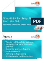 SharePoint Patching
