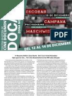 Catálogo Muestra Doca Zona Norte