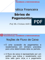 Mat Financ - Aula 6 s Ries de Pagamentos