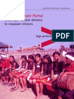 Accenture Nagaland State Portal