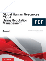 Global Human Resources Cloud Using Reputation Management