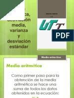 mediaaritmticadesviacinmediavarianzaydesviacinestndar-120314130126-phpapp01