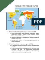 ACUERDOS COMERCIALES INTERNACIONALES DEL PERÚ