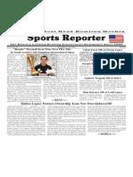 December 10 - 16, 2014 Sports Reporter