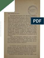 Primera Parte - Memoria Del Tesoro Año 1916