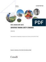 Adventure Training Safety Standards