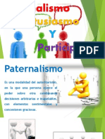Paternalismo Entusiasmo y Participacion