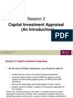 CAP1 Finance Session 2 Slides