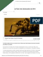 Los 5 Videos de YouTube Más Destacados de 2014 - BBC Mundo