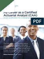 My Career Caa Brochure