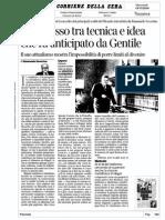 Severino Nesso Fra Tecnica e Idea in Gentile Corr d Sera 19.11.14