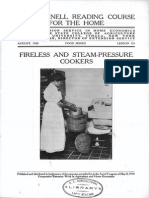Fireless and Steam-pressure Cookers