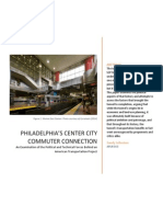 Politics and History of Philadelphia's Center City Commuter Connection