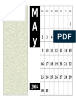Contoh Calendar