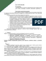 Reproiectarea Manageriala a Organizatiei
