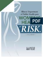 Illinois Department of Public Health Puts Women's Health at Risk